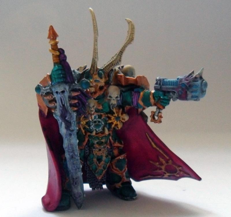 [Divers] Autres figurines : SMC, Eldars, Tyranides et non-GW Chaos_lord_wip01