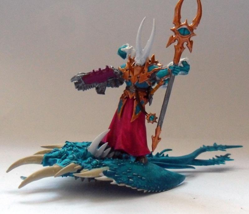 [Divers] Autres figurines : SMC, Eldars, Tyranides et non-GW Chaos_sorcerer_wip01
