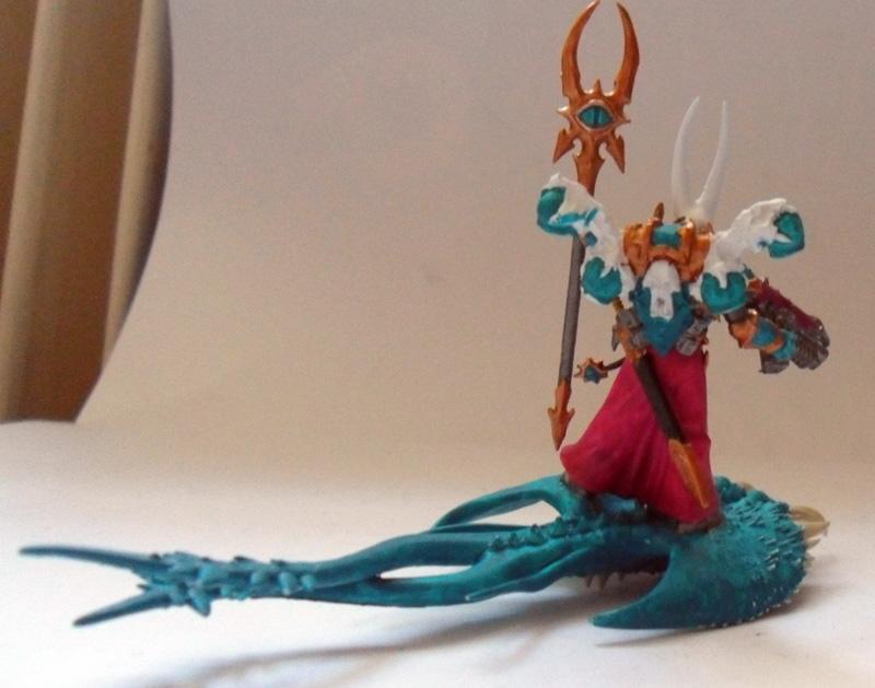 [Divers] Autres figurines : SMC, Eldars, Tyranides et non-GW Chaos_sorcerer_wip02